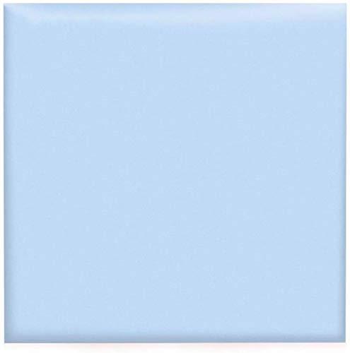 QIANCHENG-Cushion Gepolsterte Wandpaneele DIY Kopfteil Fliesen Wanddekoration Home Solid Color Collision Schutzhülle Spleißbar Selbstklebend, 6 Farben (Color : B, Size : 3pcs)