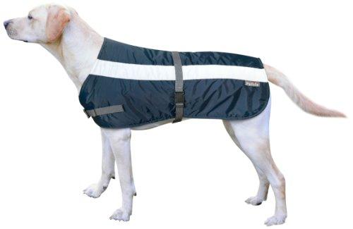 Petlife Warnweste für Hunde, mit warmem Thermofutter, 50,8cm, marineblau