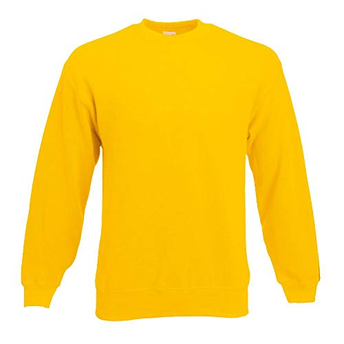 Fruit of the Loom - Sweatshirt 'Set-In' XL,sunflower XL,Sunflower