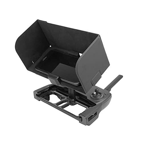 QOTSTEOS Drone Control remoto Sun Shade, Universal Sun Hood Phone Holder Lanyard para DJI MAVIC PRO (negro)