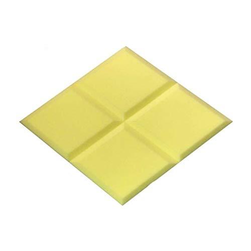 ZB-KK SZQ-Paneles acústicos de escritorio absorbentes de sonido de algodón, 10 paneles acústicos suaves Pro Traps bajos espuma acústica en estudio tratamiento de sonido 10 unidades de espuma de paneles acústicos