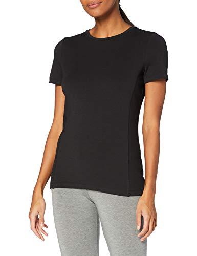 ESPRIT Sports Womens ocs T Yoga Normal Shirt, 001/Black, XL