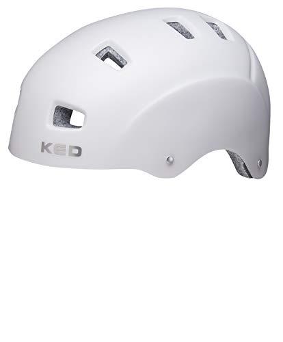 KED Risco Helmet Grijs Metaal mat 2019 Fietshelm
