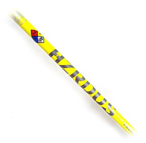 "True Temper Uncut Project X HZRDUS Yellow Hand Crafted 65g 5.5 Regular Flex Shaft 46"""