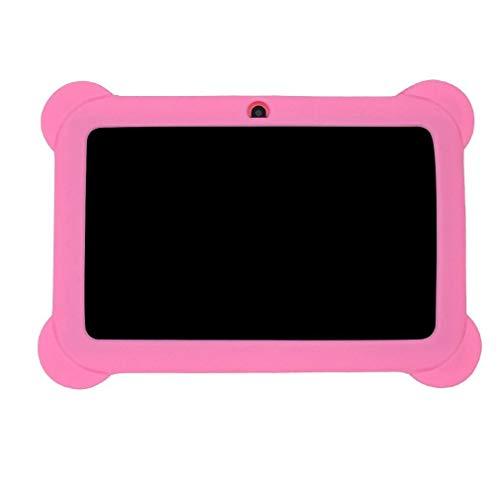 Bellaluee Tableta de Aprendizaje para niños de 7 Pulgadas para Estudiantes, Tableta para niños, computadora, máquina educativa, Tableta con WiFi, Regalo