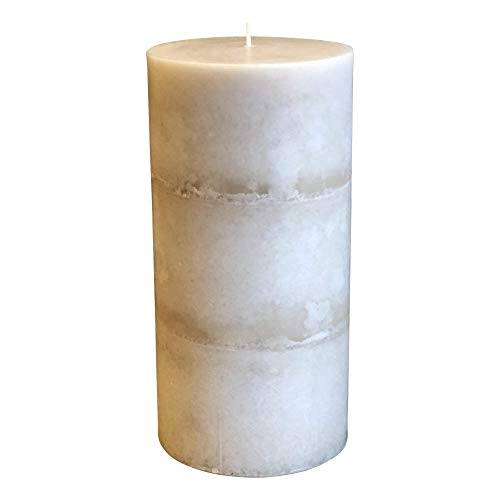 Wicks N More Ivory Bliss Unscented Pillar Candles (3x6)