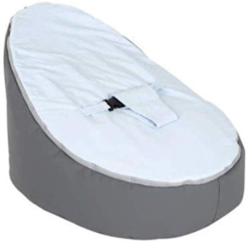 LHY- Bean Confortable Sac bébé Seat Lazy Couch Beanbag Allaitement Lit bébé Lit d'alimentation Recliner Doux (Color : Gray)