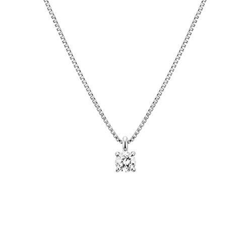 4℃(ヨンドシー)ダイヤモンドプラチナ(PT)ネックレス 111823125012