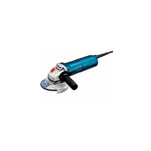 Bosch Professional Winkelschleifer GWS 11-125 (Scheibendurchmesser 125 mm, Aufnahemflansch, Schutzhaube, Zweilochschlüssel, Zusatzhandgriff Vibration Control, Spannmutter, im Karton)