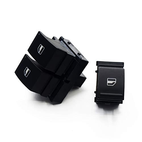 LICHONGUI Interruptor de Ventana eléctrica para Caddy 2K EOS Golf 5 6 GTI B6 CC Seat Ibiza Leon Altea TOLADO 1K3 959 857A