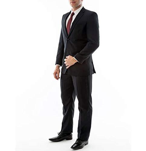 Terno Slim Fit Oxford Premium Preto