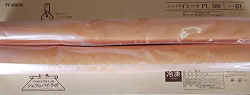 リボン パイ シート ( PL500-01 ) 1箱 ( 2本 ) 本580g( 本460×320×4mm ) 業務用 冷凍
