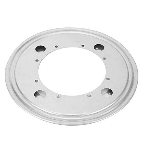 Herrajes para placas Placa giratoria resistente a la corrosión Placa giratoria con cojinete sólido Placa giratoria Mesa(9 inch galvanized round turntable)