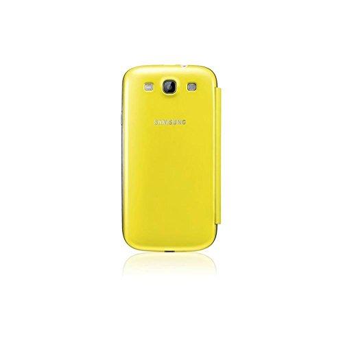 Samsung Original schützende Display-Klappe / Flip-Cover EFC-1G6FYEC (kompatibel mit Samsung Galaxy S3 I9300) yellow
