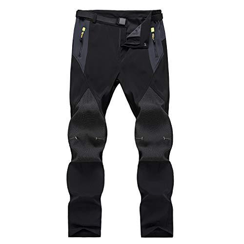 7VSTOHS Pantaloni da Trekking da Uomo Pantaloni Casual Comodi e Traspiranti per Abbigliamento Sportivo Leggero Pantaloni da Arrampicata da Equitazione