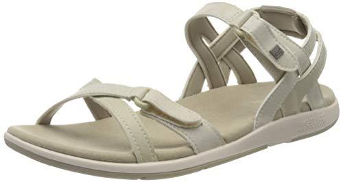 Regatta Damen Santa Cruz Sandale, Natürlicher/Weißer Sand, 41 EU