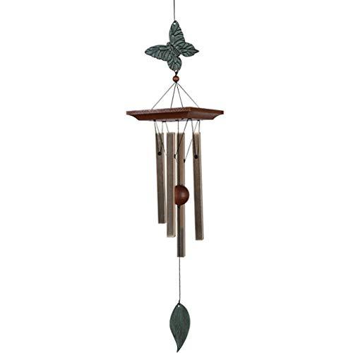XUANLAN Carillons éoliens pour Tubes créatifs à Tube carré 4, Suspension extérieure pour Carillon éolien, carillons éoliens pour Jardin intérieur et extérieur (Color : A)