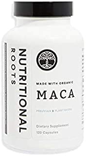 Peruvian Maca Supplement Made with Organic Fermented Maca Root, 3000 mg per Serving, Enhanced with Added Botanical Blend, ...