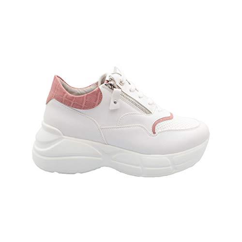 Keys - 703 white sneaker w K-701