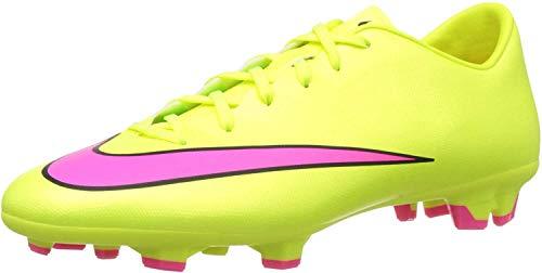 Nike Herren Mercurial Victory V FG Fußballschuhe, Gelb (Volt/hyper pink-black 760), 45.5 EU
