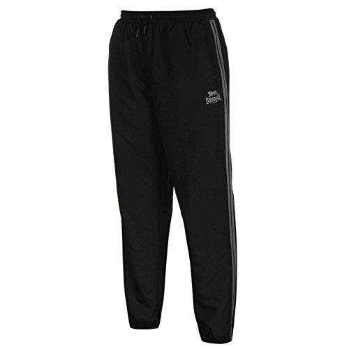Lonsdale Pantalon de sport 2 bandes pour homme - Noir - Medium
