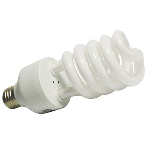Tsubaya E27 45W 150W 220V 5500K E27 Fotostudio Glühlampe Videolichtfotografie Tageslichtlampe für Digitalkamera-Fotografie - Weiß