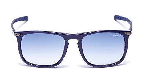 Formula 1 Eyewear Gold Collection Overtake Navy Gafas de sol unisex, F1S1042