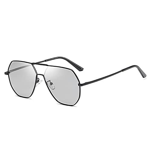 Gafas de sol fotocromáticas para pesca, estilo vintage, para exteriores, con marco de aluminio