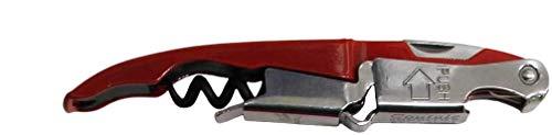 Coutale Innovation Korkenzieher, Kellner-Stil, Doppelhebel, Rot