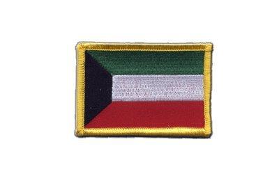 Aufnäher Patch Flagge Kuwait - 8 x 6 cm