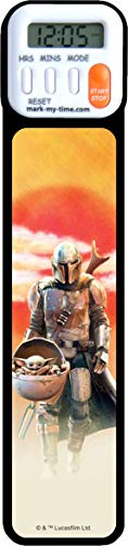 Mark-My-Time 3D Mandalorian and The Child Bookmark with Reading Timer
