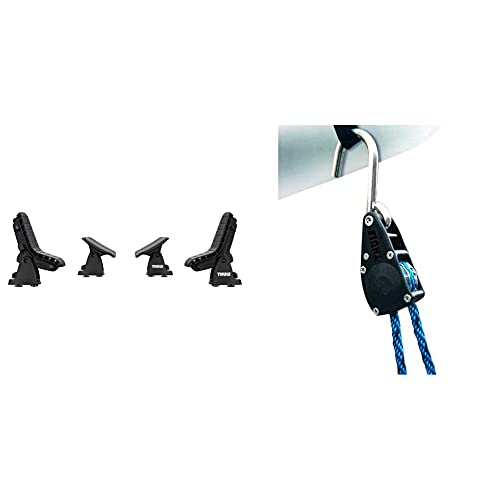 Thule 896000 DockGlide & 838000 Quickdraw, strapazierfähiger Schnellspanner