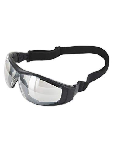 Magid Safety Z87 Goggles | Anti-Fog Goggles with a Foam Liner, Integrated Nose Pad & Elastic Headband (1 Pair)