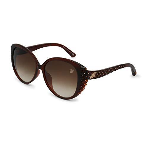 Swarovski Sonnenbrille SK9068 05F Gafas de sol, Marrón (Braun), 58.0 para Mujer