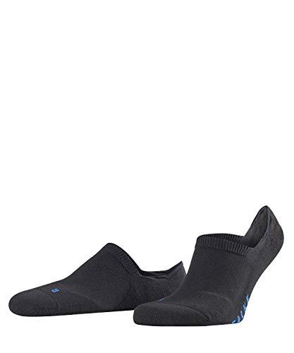 FALKE Unisex Cool Kick Invisible, - Ultraleichte Plüschsohle, Rutschfest durch Silikon im Fersenbereich ,1er pack, Schwarz (Black 3000), 42-43 EU