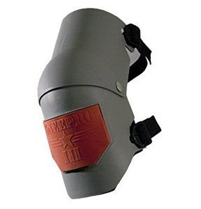 KP Industries Knee Pro Ultra Flex III Knee Pads - Gray and Orange by KP
