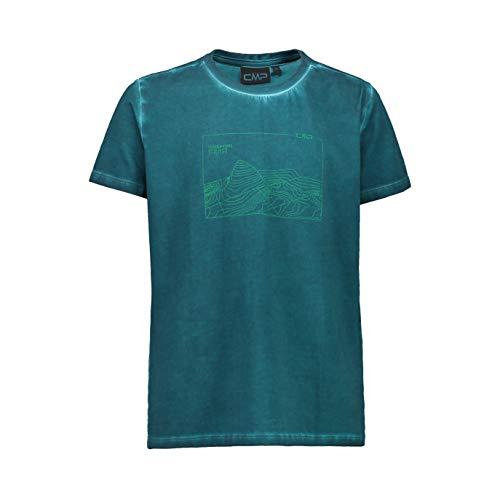 CMP T-Shirt Stretch Dyed Jersey, Ragazzo, 152