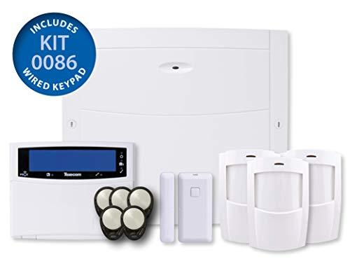 3 x texecom premier compact ir pir alarme détecteurs de mouvements ACD-0001