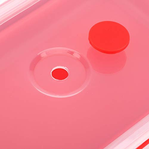 Fiambrera Bento, sin BPA, no tóxica, insípida, ligera y portátil, ideal para el almacenamiento de alimentos,(red)