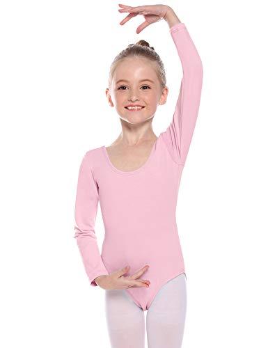 Hawiton 2 Paar Meisjes Ballet Dans Panty's Soft Footed School Panty's voor Kinderen