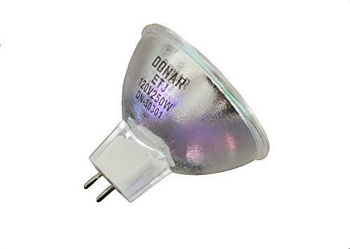 2pcs ETJ 120V 250W MR16 Halogen DJ Projector Projection Medical Dental Replacement lamp Bulb RM124