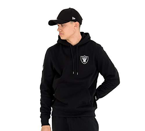 New Era Team Apparel NFL Sweater Herren Oakland Raiders Schwarz, Größe:XL