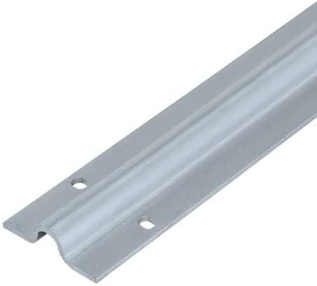 Metalideal | Rail De Portail À Visser Epaisseur 3 mm Longueur 3 Mètres Pour Roue À Gorge Ronde 16 mm