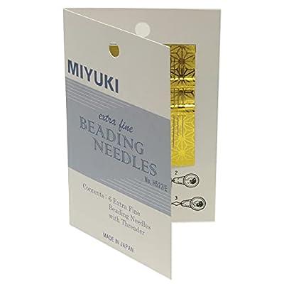 Miyuki Extra Fine Beading, Needles 6 Pc + Threader - JPN156