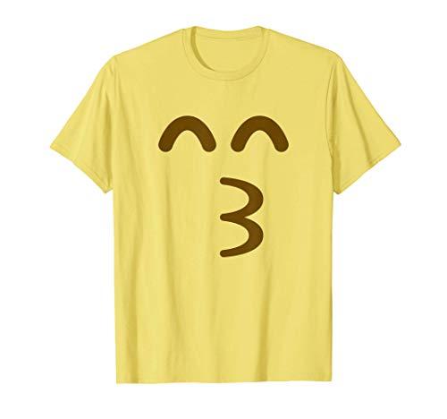 Beso Emoji Disfraz de grupo de Halloween Camiseta