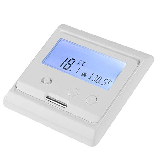 Termostato, termostato de calefacción eléctrica doméstica blanca, para sistema de calefacción por suelo radiante