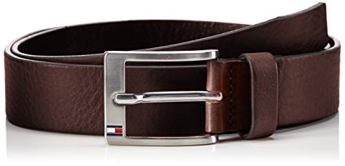 Tommy Hilfiger New Aly Belt, Cintura Uomo, Marrone (TESTA DI MORO-EUR), 95(UK)
