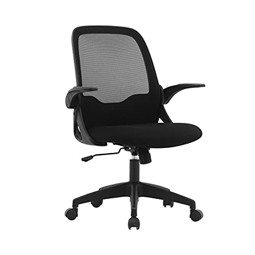 Office Chair FelixKing, Ergonomic Desk Chair with Adjustable Height and C-Shaped Design Desk Computer Chair with Adjustable Storage armrests for Conference Room Black