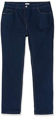 Damart Pantalon Perfect Fit Taille Haute Jambe Droite Femme Indigo 50