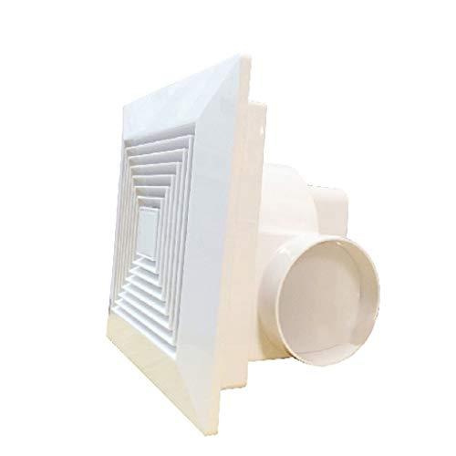 Ventilador de ventilación doméstico Extintor De 8 Pulgadas, con Conductos Ventilador De Techo Techo del Baño/Cocina/Sala LITING